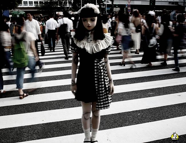 Lulu Hashimoto no pasa desapercibida cuando sale a las calles de Tokyo, Japón | Imgur