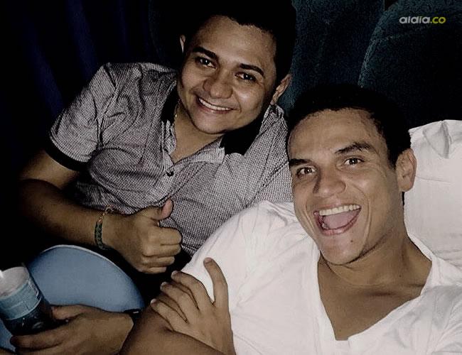Silvestre subió una foto de él junto al bajista en su cuenta de Instagram. Se lamentó de lo ocurrido | Instagram