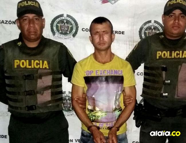 Pacheco Sánchez, de 29 años, fue detenido por patrulleros de la Policía de Río Frío tras acuchillar en el cuello a su sobrino