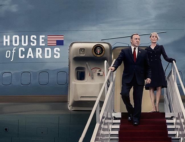 La participación de Robin Wright en las últimas temporadas se fue equiparando a Spacey al punto de tener buena parte del peso de la historia. | Netflix