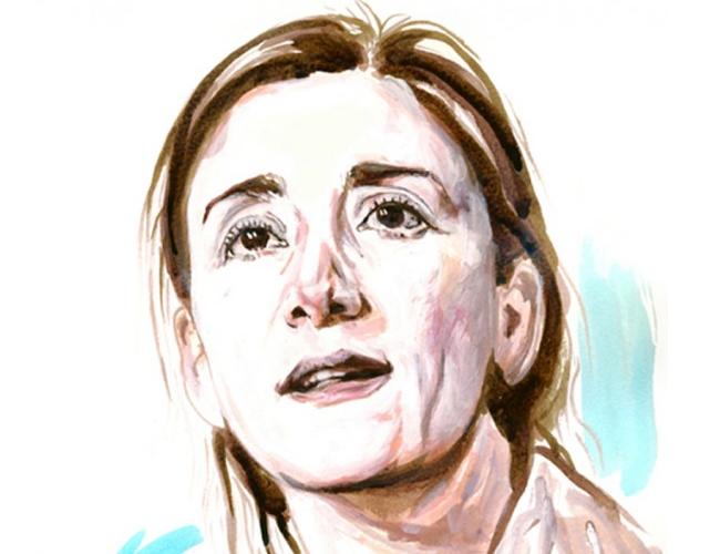Ingrid Betancourt fue secuestrada por las FARC en 2002 y estuvo en poder de esa guerrila durante 6 años | Titina Chalmatzi Portraits – Τιτίνα Χαλματζή.