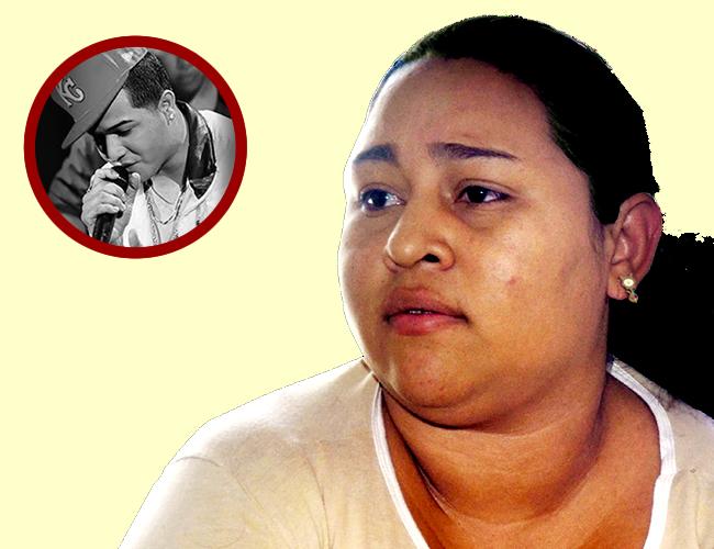 Diana Guzmán vive en la casa de sus padres desde que mataron a Álvaro. | Foto Archivo