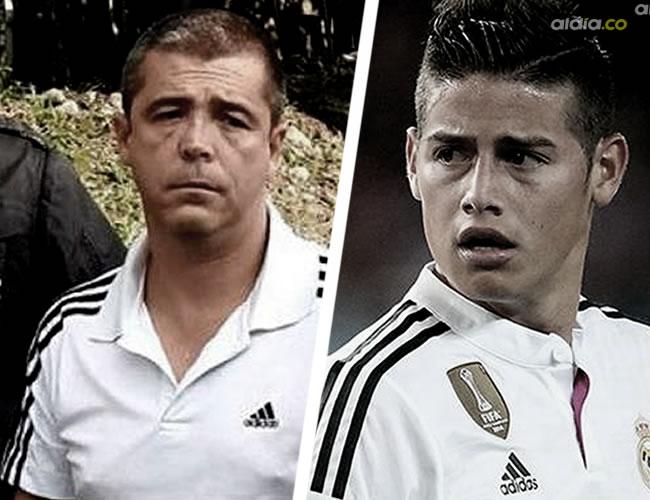 Elkin Fernando Moncada Ríos entrenó a James cuando el jugadro de Real Madrid estaba en Antioquia