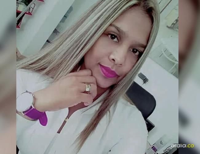 Jennifer Colina Solano, la joven que murió en el accidente