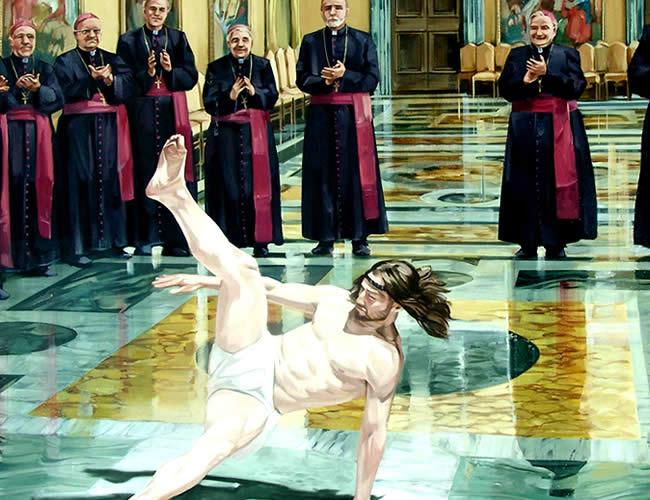 La canción le da la vuelta al mensaje erótico original para hacer una oda a Jesucristo   Foto:  Cosmo Sarson