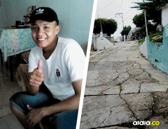 Edwin Raúl Molina Martínez fue asesinado de cuatro tiros cuando salía de su casa a coger un bus para ir a trabajar. | AL DÍA