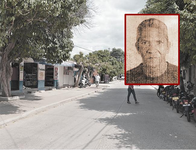 En la tienda Las JJJ, del barrio Cinco de Enero, se presentó la muerte de Róbinson Orozco, de 61 años, a manos de su hijo. | Foto: Archivo