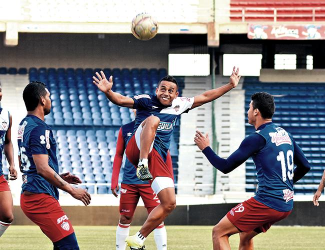 Vladimir Hernández suma tres goles en cuatro partidos disputados en la Liga | Foto: Archivo