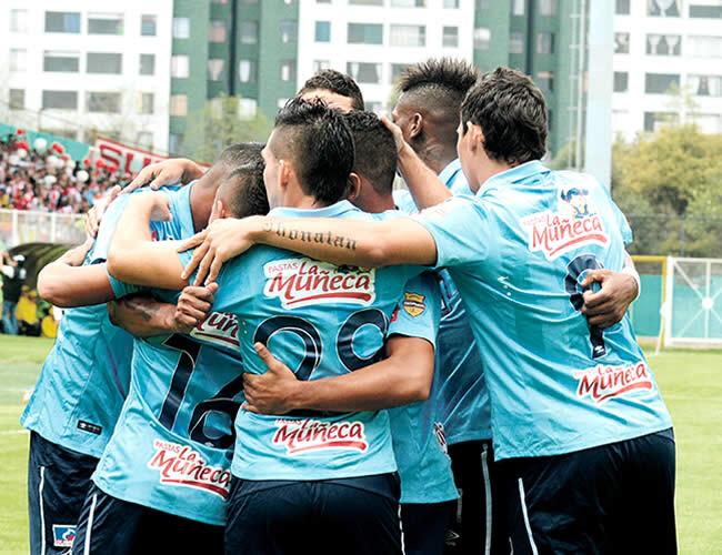 En Bogotá Junior derrotó a Fortaleza 2 - 1 | Foto: Archivo