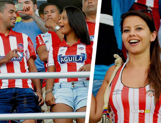 En el estadio no se vieron banderas con ningún mensaje alusivo a la falta de refuerzos, a las palabras de Fuad Char o contra Toloza y Carachito Domínguez. | AL DÍA