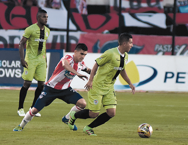 Junior empezará hoy a preparar el duelo de este sábado ante Equidad en Bogotá.   Foto: AL DÍA