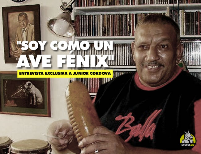Junior Córdova es famoso por éxitos como El melón, La cinta verde y La mora | Archivo