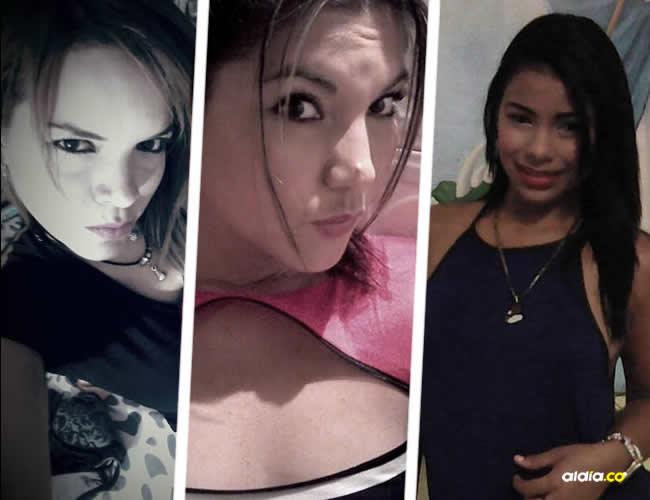 Karen, Andrea e Idanis. Dos eran barranquilleras y una de la ciudad de Bucaramanga | ALDÍA.CO