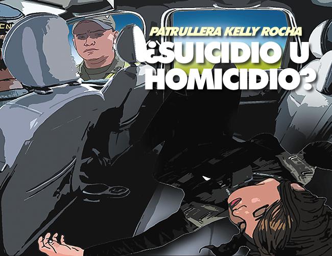 El patrullero Gustavo José Mesquida Suárez que vigilaba la entrada a Guayabalito, le llamó la atención que la patrullera Kelly Rocha viniera acostada en el asiento trasero de la camioneta. | Ilustración: Rubén Miranda