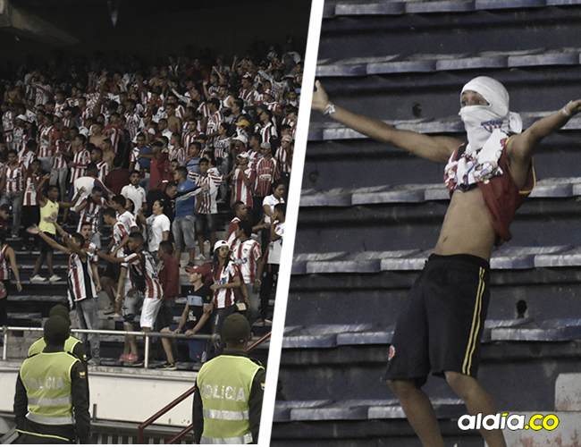 Tribunas del Metropolitano durante la final de la Copa Águila 2016. | AL DÍA