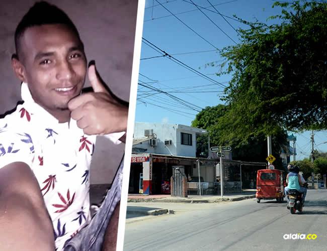 En este lugar del barrio Tajamares, de Soledad, ocurrieron los hechos en los cuales fue baleado el joven barrista. | Al Día