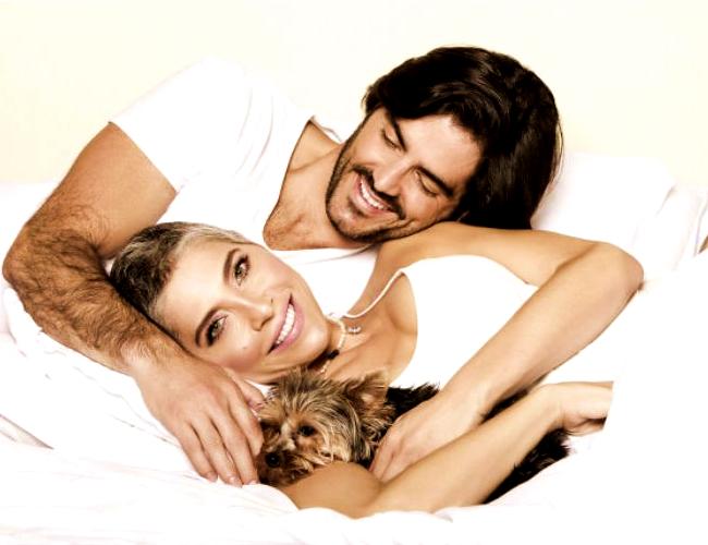Lorena Meritano y Ernesto Calzadilla estuvieron juntos por tres años.   Mundo TKM