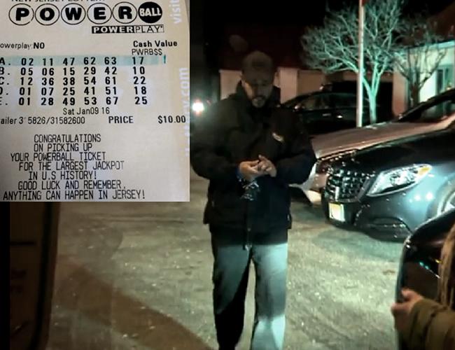 Diego Moreno creyó ser el ganador de 935 millones de dólares, pero al final todo fue un error.