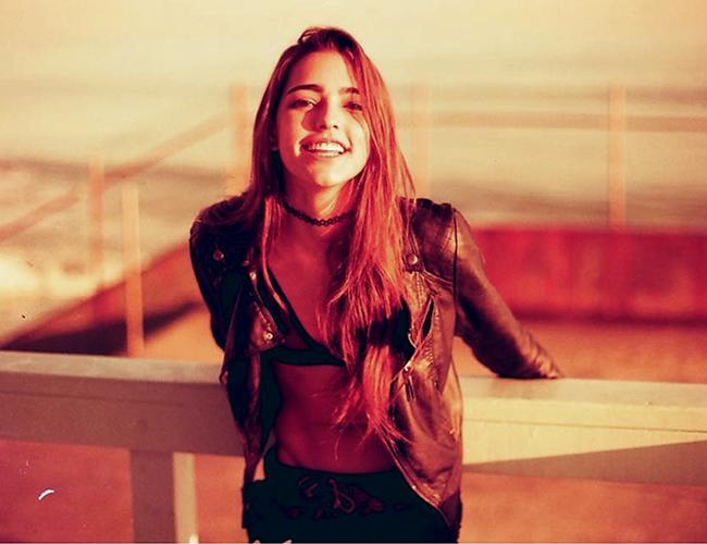 Lucía Vives tiene 20 años y estudia Filosofía en Nueva Orleans, EE.UU. | Foto: Instagram