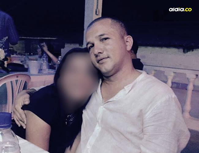 Luis Fernando Simanca Charris, el comerciante de 32 años asesinado de tres balazos en la vereda El Vaivén. | Facebook