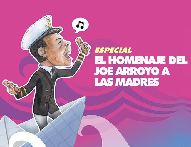 Joe Arroyo, sepultó a su madre Ángela González el 23 de junio de 2012. Ese día cantó a todo pulmón la canción 'Mama', hasta quebrar en llanto. | Foto: AL DÍA