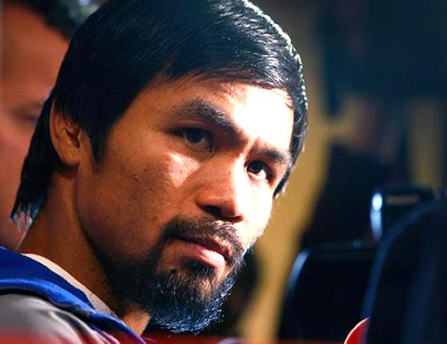 El boxeador filipino se metió en líos con los simpatizantes de la comunidad LGTBI al compararlos con animales.   Foto: ibtimes.com