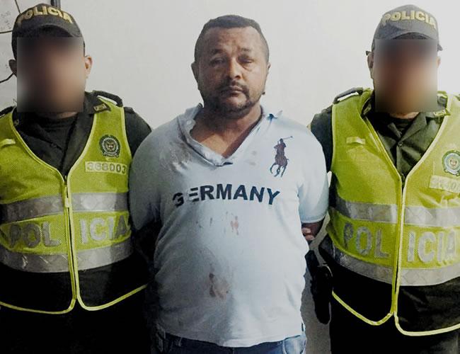 Víctor Manuel Ospino, el hombre capturado por tocar abusivamente a una mujer en una estación del Transmetro. | Policía