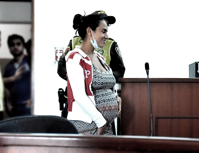 A María Mónica Montero le dieron detención domiciliaria. | AL DÍA