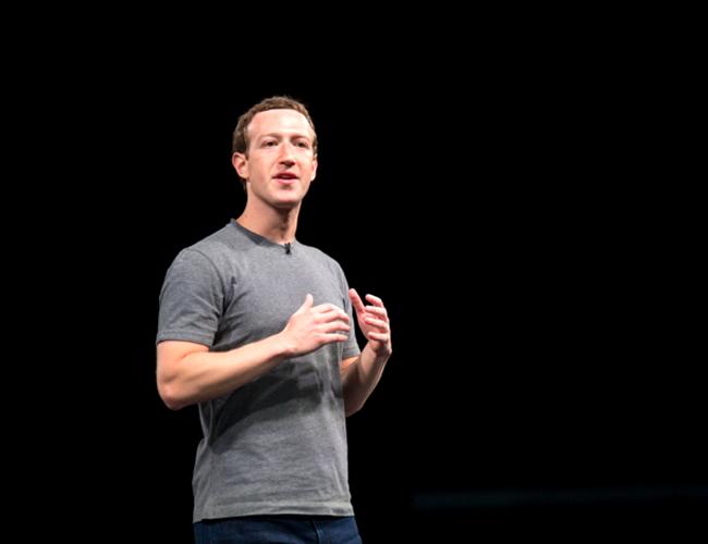 Mark Zuckerberg habla sobre realidad virtual durante la presentación del Samsung Galaxy S7 y S7 Edge. | Foto: bizradar.co