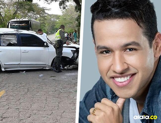 Así quedó la camioneta donde se transportaba el cantante vallenato | El Heraldo