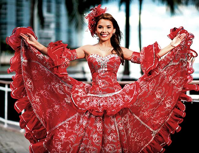 Mary Palacio, Reina del Carnaval en Estados Unidos.   Foto: Archivo Particular