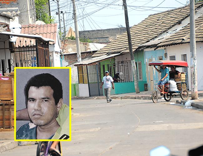 En la calle 21 con carrera 35B, sector Sauce del barrio Rebolo, fue asesinado de dos tiros en la espalda Franklin José Vega Tomas, de 34 años. | Foto: Archivo
