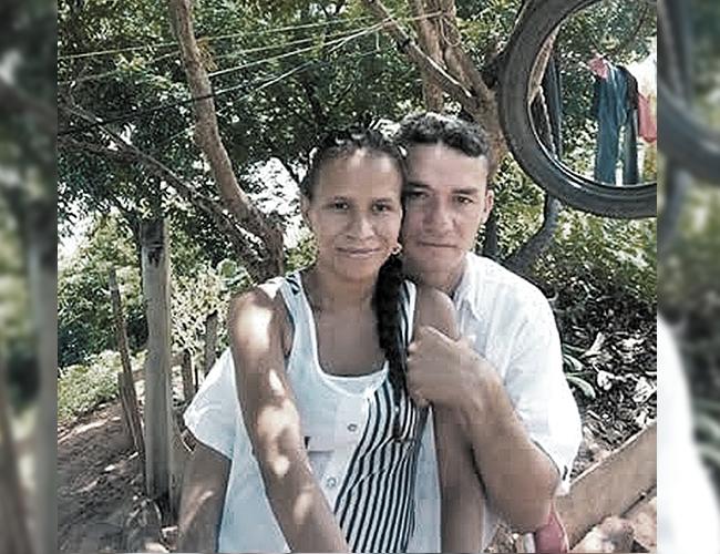 José Francisco Amaranto López, de 38 años, y Edith María Andrade García, de 31, tenían una relación hace 7 años. | Foto: Archivo