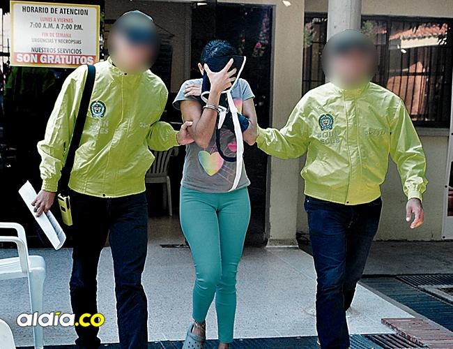 Gina Paola Rodríguez fue capturada en octubre de 2015, en el barrio Los Fundadores de Valledupar. | AL DÍA