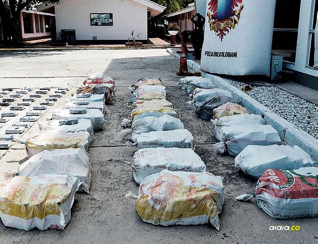 La tonelada de cocaína incautada por las autoridades al parecer iba a ser enviada a Europa y Centroamérica. | Al Día