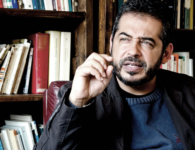 Uno de los escritores más importantes de Colombia, Mario Mendoza | Archivo