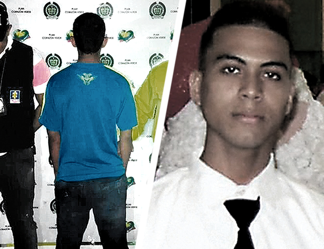 Joven de 17 años, detenido por la Sijín y el CTI, señalado de participar en el desmembramiento de Johnny Suárez. | AL DÍA