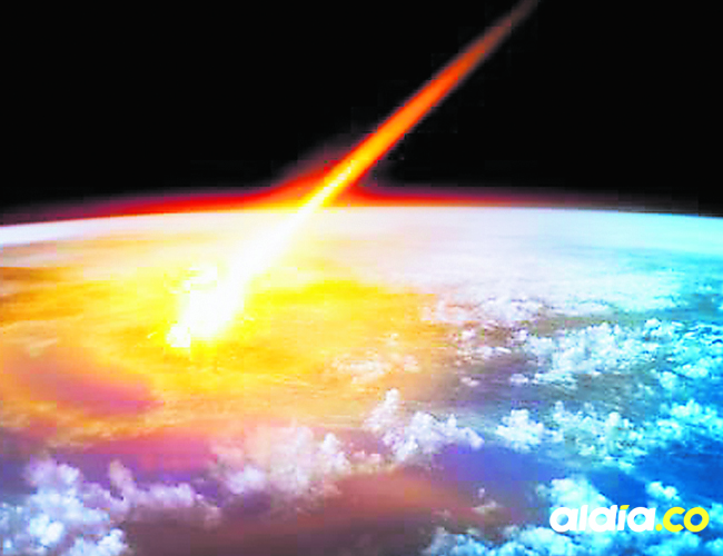 El enorme meteorito explotó sobre la Tierra en diciembre y nadie se dio cuenta.