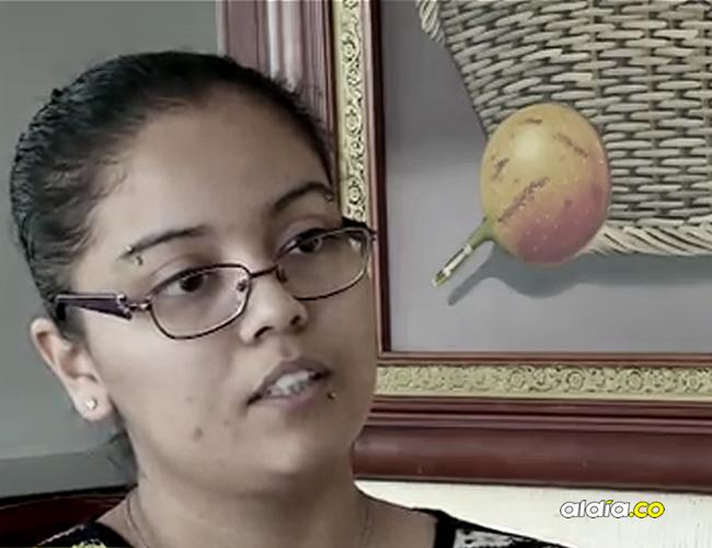 El idilio de amor de Liliana Jazmín García y el supuesto general solo duró un mes. Ya lleva tres meses viviendo en un hotel en Bogotá. | Captura