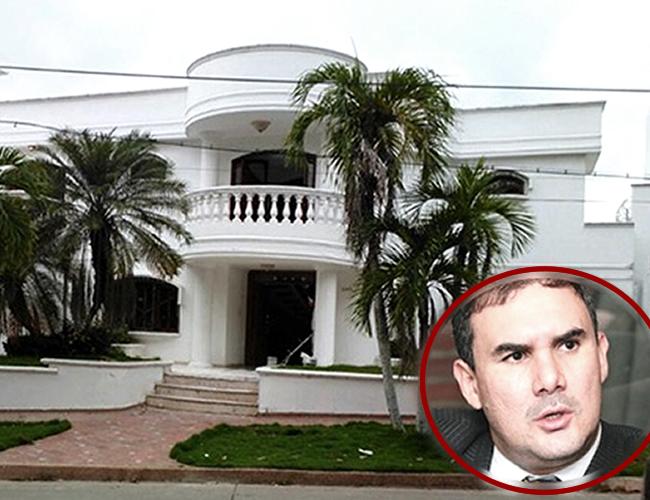 Esta es la casa a la que sería trasladado Miguel Nule. | Foto: El Heraldo