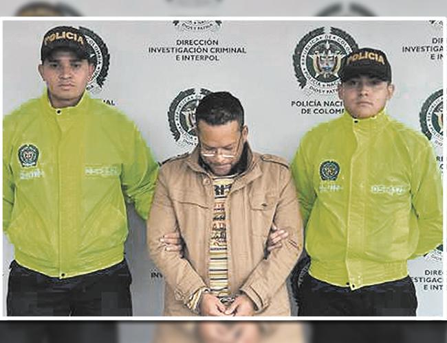 Nelson David Escorcia Ternera, el habilidoso estafador capturado en Suba por suplantación y extorsión agravada. | Foto: Archivo