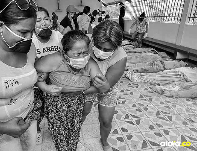 El dolor retratado de los familiares al identificar a las víctimas mortales | Semana.com