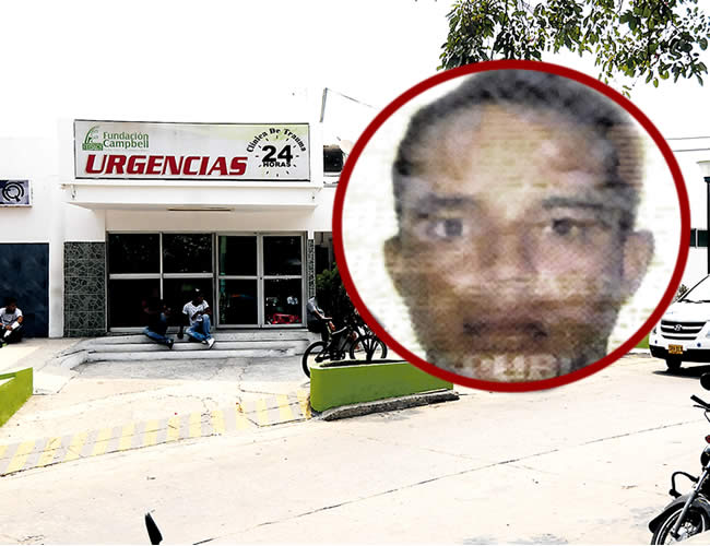 Danis Enrique Blanco Nova, de 27 años, murió tras permanecer internado tres días en la Clínica Campbell debatiéndose entre la vida y la muerte | Foto: Archivo