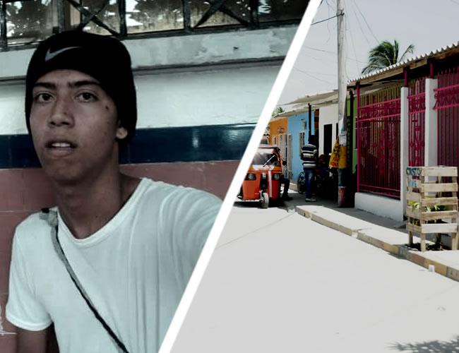 César Augusto Pacheco Pilidez fue baleado en esta calle, alcanzó a entrar agonizante a la casa enrejada | Al Día