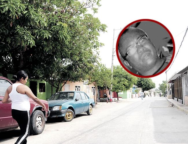 En la calle 50 C con carrera 3, barrio Carrizal, una moto embistió a Jorge Luis Cárdenas Saratt, de 48 años, quien falleció 13 días después en una clínica   Foto: Al Día