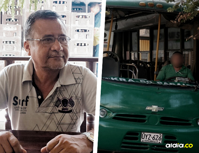 Martín José Martínez, asesinado en asalto en un bus de Sobusa que cubre la ruta de la Cll 17.   AL DÍA