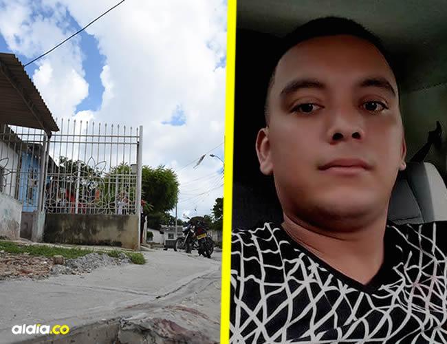 José Luis Poveda Carrillo, de 25 años, era taxista.