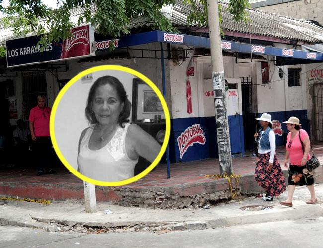 Marta Martín Bacci fue asesinada en la calle 50 con carrera 50, barrio Abajo | Foto: Al Día