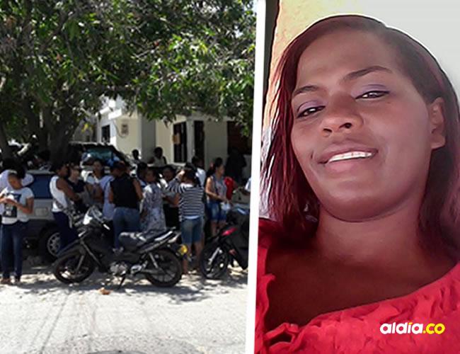Los familiares y amigos tanto de su pueblo natal como de Riohacha fueron a esperar el cuerpo en Medicina Legal | Al Día