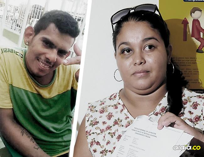 Ana Pérez, de 23 años y su expareja José Guillermo Guerrero. | Foto: ALDÍA.CO